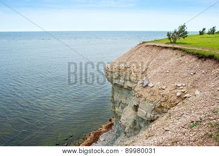 Baltic Sea Coast. Saaremaa Island, Estonia.