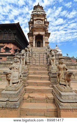 Unesco Heritage Architecture Of Bhaktapur, Kathmandu, Nepal