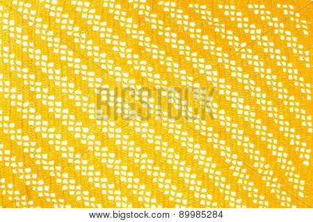 Knitted Napkin Texture Background