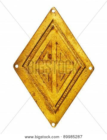 Old Brass Rhombus