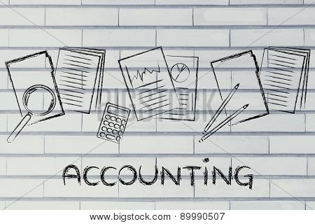 Accounting: Design With Business Documents And Stats