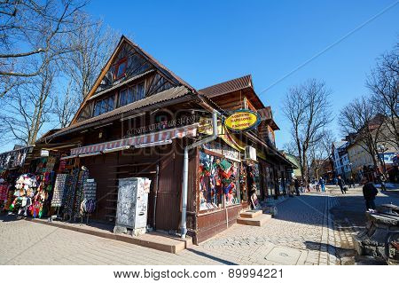 Building At Krupowki In Zakopane