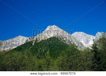 Mountains In Tirol