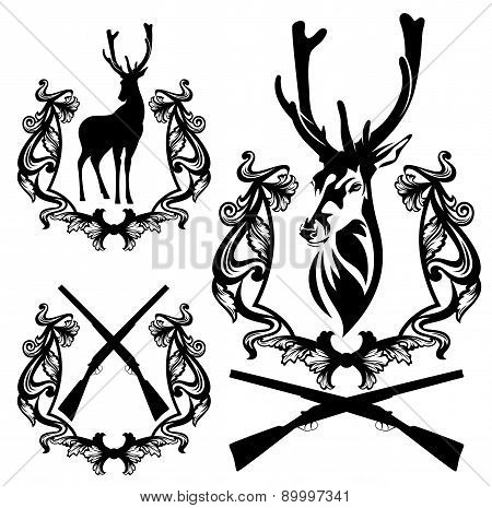 Deer Hunting Set