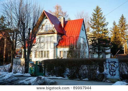 Brick House In Zakopane