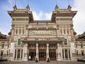 pic of thermal  - Historical thermal baths in Salsomaggiore  - JPG