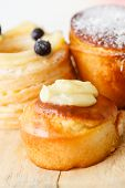 image of french pastry  - french pastries - JPG