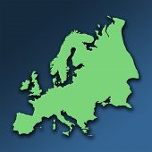 Green Europe poster