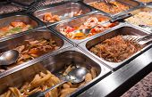 image of buffet  - Chinese restaurant - JPG