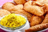 pic of holi  - gujia special dish for holi festival in india - JPG