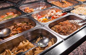 picture of buffet catering  - Chinese restaurant - JPG