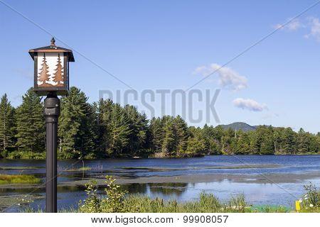 Lamp Post Mountain Lake