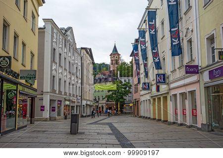 Passau Pedestrian Area