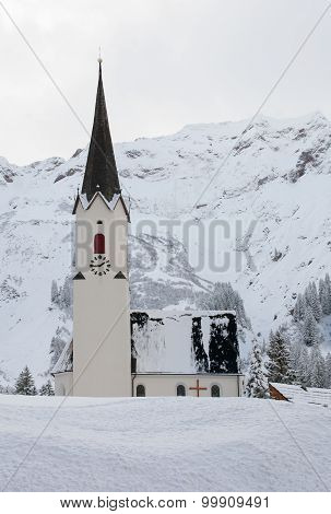Church In The Snow, Austria