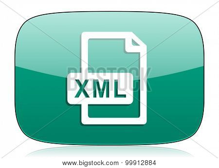 xml file green icon
