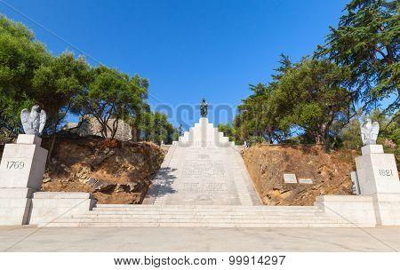 Memorial Of Napoleon Bonaparte. Ajaccio, Corsica