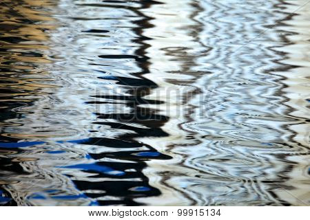 Abstraction On Water Surface.
