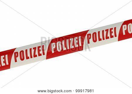 Germany Police Line