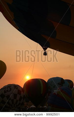 Sunrise at Reno Balloon Races