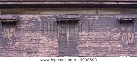 Thai Style Old Window
