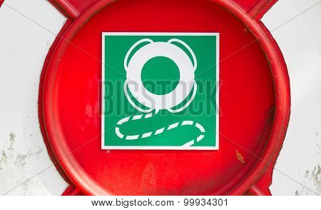 Sign Of A Life Buoy