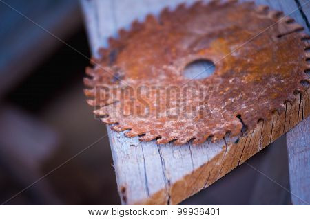 Old Circular Saw Blade For Wood Work