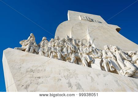 Monument to the Discoveries of New world, Belem, Lisbon, Portugal.