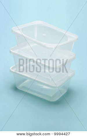 Empty Transparent Plastic Boxes