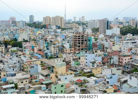 Cityscape Of Ho Chi Minh City