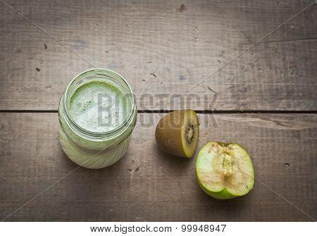 Smoothie Fruits With Yogurt