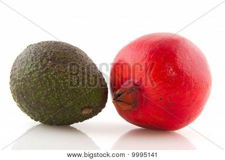 Pome Granate And Avocado
