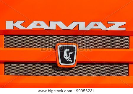 the logo of KAMAZ.