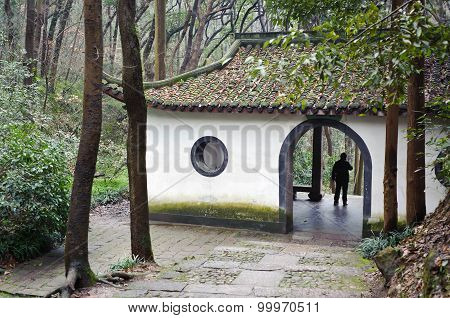 Covered Archway On Beishan Hill, Hangzhou, China