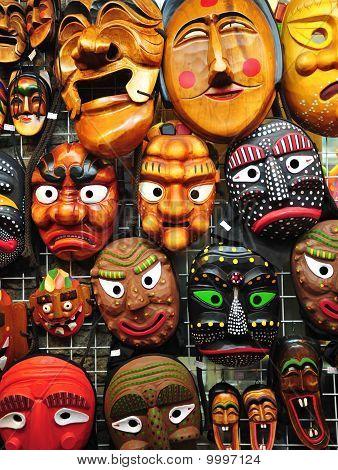 Korean Traditional Masks