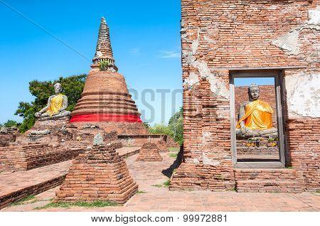 Wat Worachetharam, Ayutthaya, Thailand