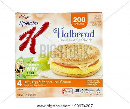 Flatbread Breakfast Sandwiches