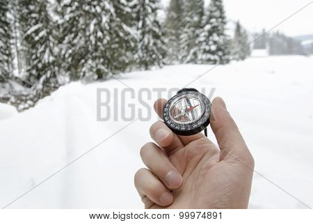 Winter Mountain Nordic Walking Accesories