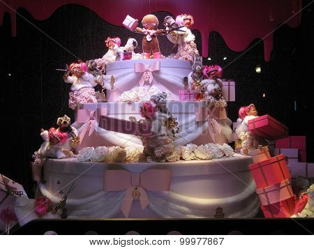Christmas window decoration