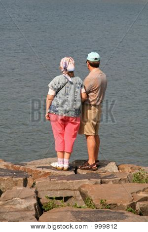 Middle Aged Couple