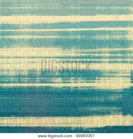 Abstract blank grunge background, old texture with stains and different color patterns: yellow (beige); blue; cyan