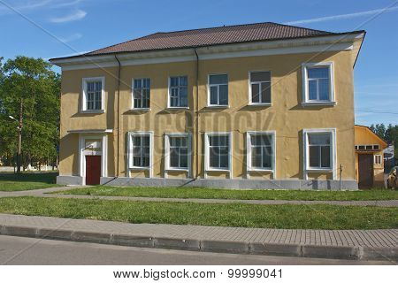 House With Yellow Walls