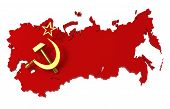 picture of communist symbol  - Soviet Union - JPG