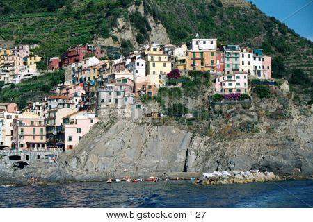 Cinque Terre In July