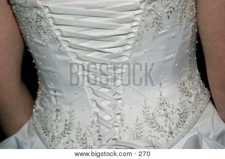 Hochzeit Kleid Schnürung