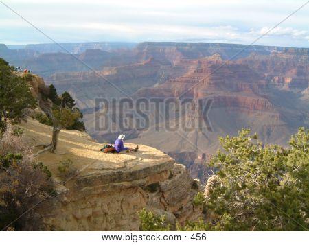 Allein mit dem Canyon
