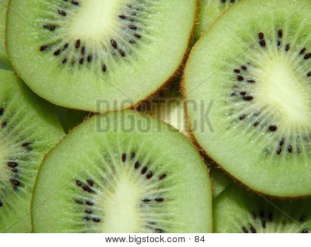 Close Up Of Kiwi Fruit